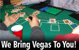 Casino Nights of Tulsa with DJs and the best casino game rentals around