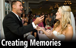 Tulsa Weddng DJ and Wichita Wedding Disc Jockeys for ceremony sound and rehearsal dinners