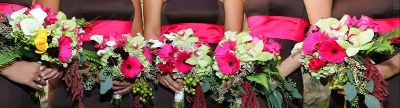 tulsa oklahoma wedding bouquets all in a row